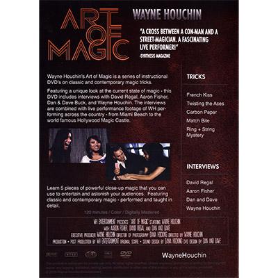 【特価】アート・オブ・マジックDVD / Art of Magic by Wayne Houchin