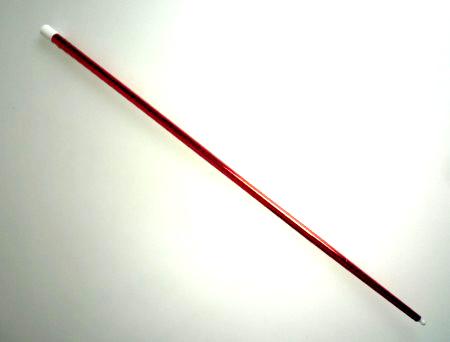 バニシングケーン(プラスチック)メタリック:赤※