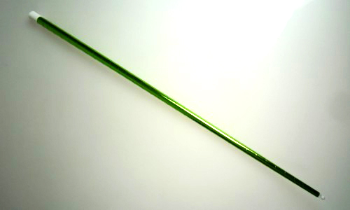 バニシングケーン(プラスチック)メタリック:黄緑※