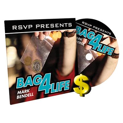 【特価】バッグ4ライフ(ギミックコイン+DVD)/ Bag4Life(25 CENT US Quarter and Online Instructions)