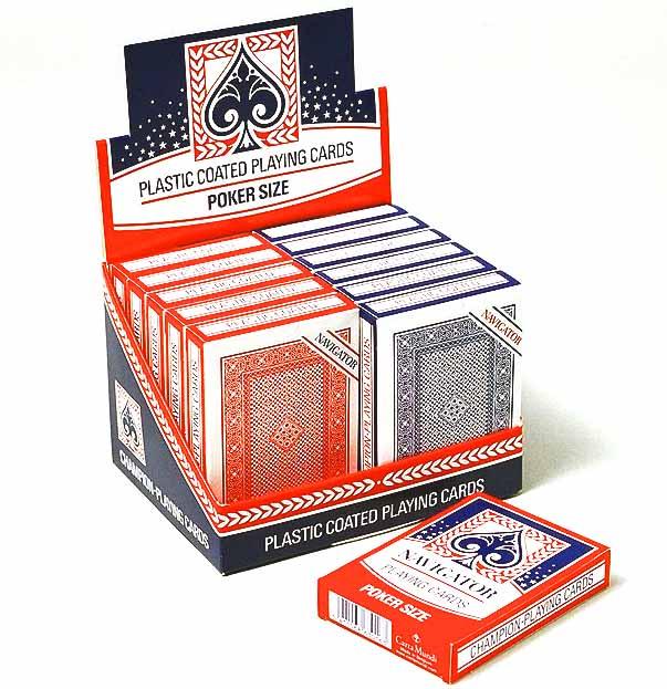【特価】ナビゲーターデック(ハード)赤 / Navigator Playing Cards