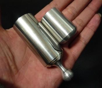 金属製バニシングケーン:シルバー※