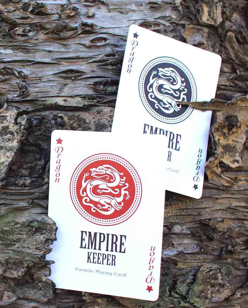 エンパイアキーパー:マークドデック(青) / Empire Keeper Mark Deck Blue