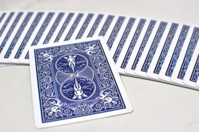 ダブル・バック・デック [レッド&ブルー](バイシクル・ポーカーサイズ)DB