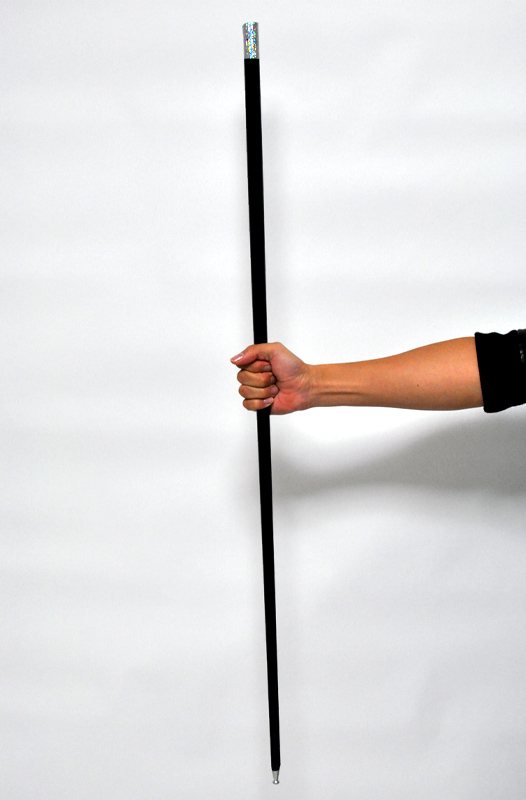 金属製アピアリングケーン(黒)