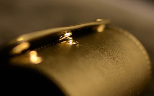 レザーチョップカップ(折りたたみ式)/Collapsible Leather Chop Cup※