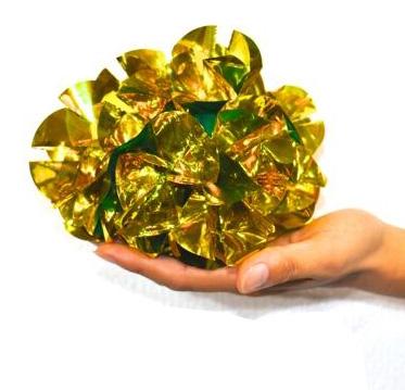 くす玉 ゴールド(極小サイズ)