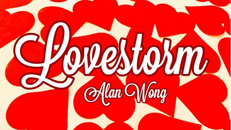 【特価】ハートの紙吹雪/Love Storm by Alan Wong