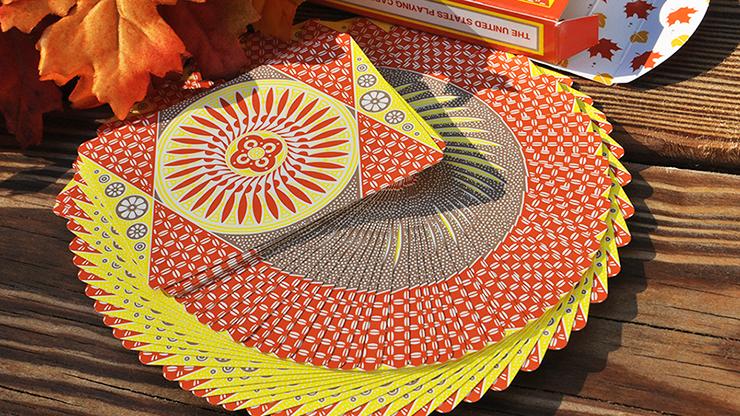 タリホー:オータムサークルバック / Tally-Ho Autumn Circle Back Playing Cards