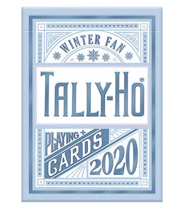 タリホー:ウィンターファンバック / Tally-Ho Winter Fan Playing Cards