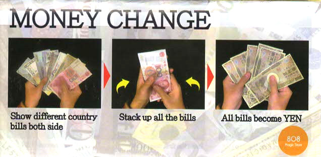 マネー・チェンジ / MONEY CHANGE