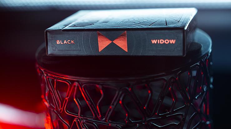 【特価】ブラック・ウィドウ・デック / Black Widow Playing Cards