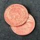 20センタボコイン / Mexican 20 Centavo Coin (Replica, Copper)