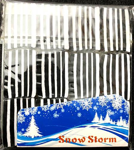 格安:紙吹雪(白黒):長方形の紙吹雪/SnowStorms - Multi-Color