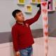 ハートシルクストリーマー(15cm×15m) / Heart Silk Streamer 15cm * 15m Heart silk streamer