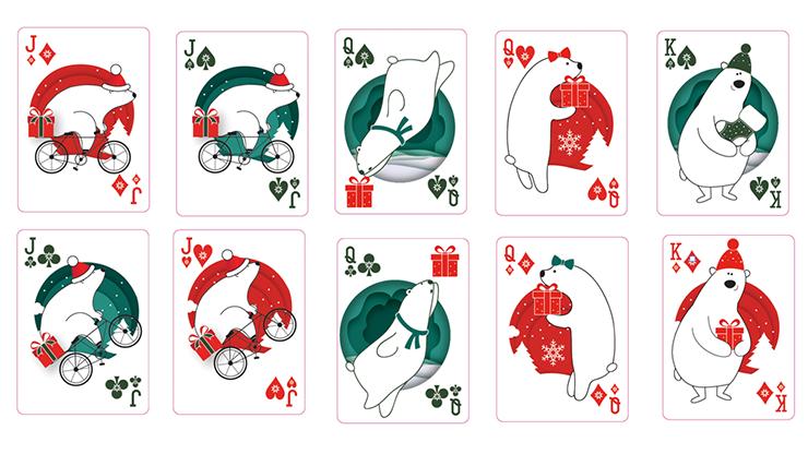 クリスマスデック:レッド / Christmas Playing Cards (Red) by TCC