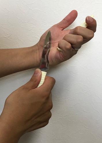切れないナイフ:白