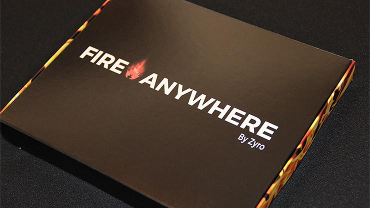 【特別価格】 ファイヤー・エニウェア/Fire Anywhere  by Zyro and Aprendemagia (Gimmick and Online Instructions)※