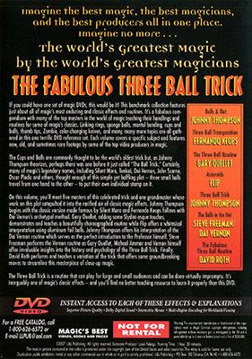 スリーボール・トリック(ワールドグレイテストマジック)/Fabulous Three Ball Trick (World's Greatest Magic)