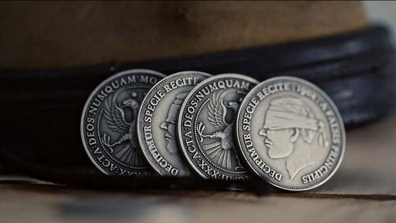 アンティーク風シルバーコイン/Antique Silver Finish Coins
