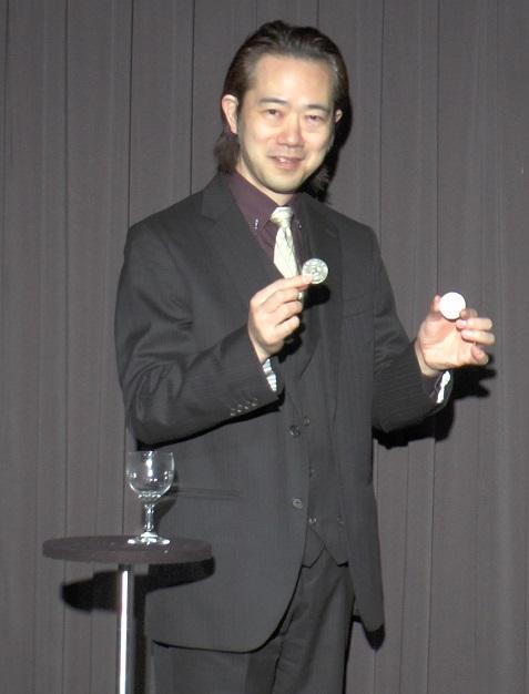 上口龍生のグラスとコイン DVD