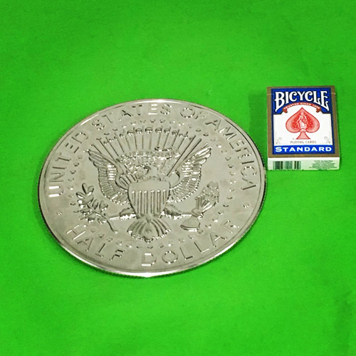 スーパージャンボハーフダラー(21cm)/Super Jumbo Kennedy Half Dollar - EIGHT INCH