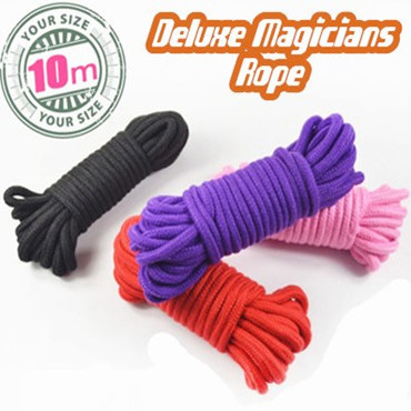 マジシャンズロープ:黒(10M)/Deluxe Magicians Rope - 30ft (10M)