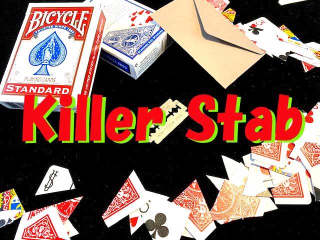 キラー・スタッブ:青 / Killer Stab by CULL ※