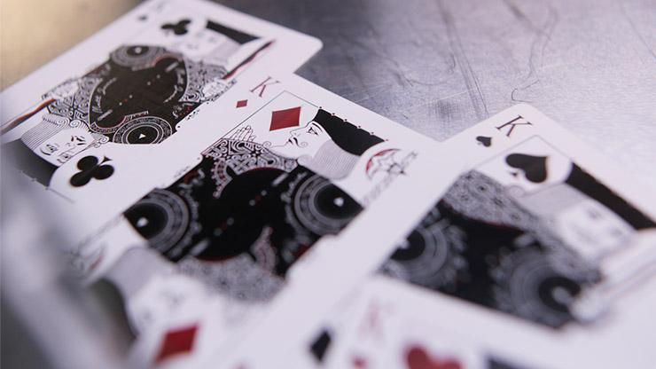 【特価】ギャンブラーズ・デック/Gambler's Playing Cards (Borderless Black)