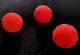 【激安30個セット】スポンジボール:赤(中サイズ35mm)