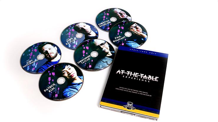 【特価】アット・ザ・テーブル・ライブレクチャーDVD(2017年4〜6月) / At The Table Live Lecture April-May-June 2017 (6 DVD Set)
