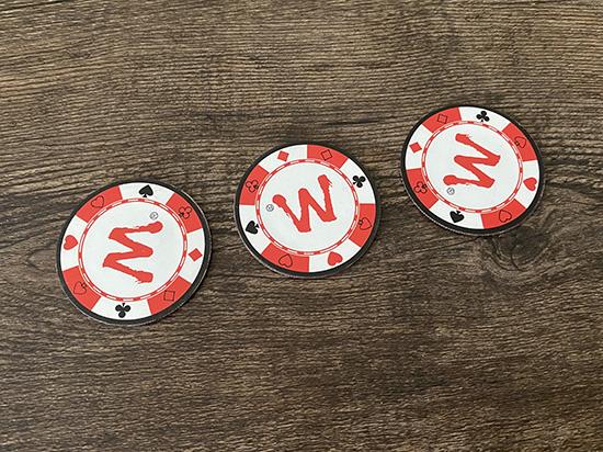 スーパートリプルコイン&ポーカーチップセット