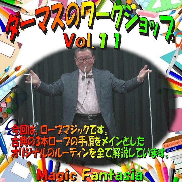 ダーマスのワークショップ Vol.11 DVD