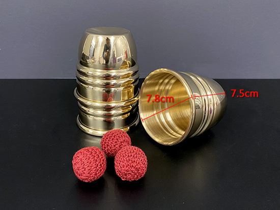 Super Cups and Balls (Brass)/スーパーカップ&ボール(ブラス)