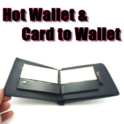 Hot Wallet & Card to Wallet(コンビネーション・ファイヤーワレット)