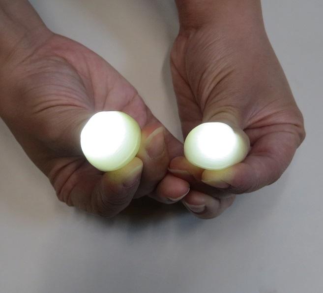 Glowing Thumbs Trick (お買い得ディライト/白・黄)