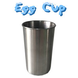 Egg Cup (Stainless Steel)/ステンレス製エッグカップ