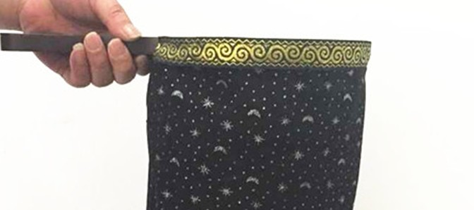 Change Bag - Repeat - Large (The Stars and The Moon,Black)