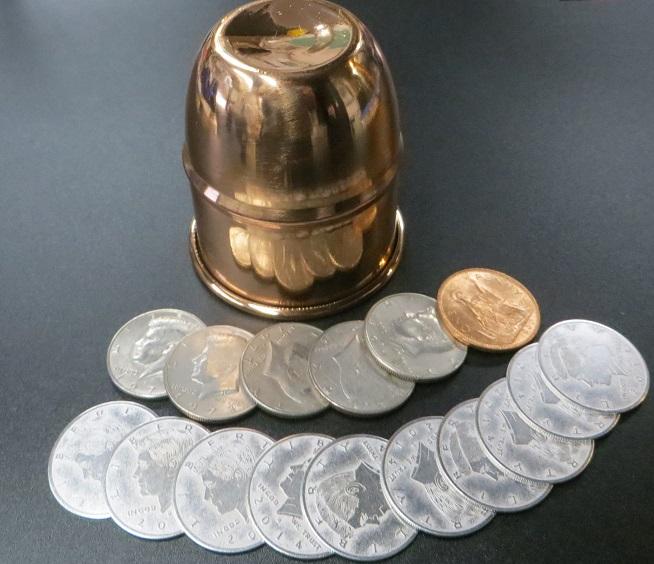 神保賢孝のカップ&コイン