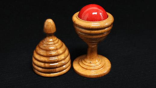 Ball Vase/木製・ボールベース