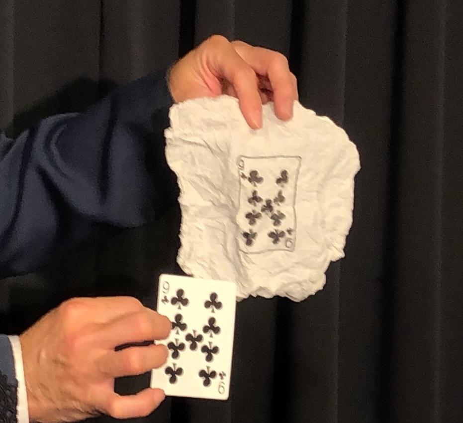 ティッシュinカード