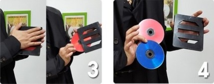 Color Changing and Vanishing CD