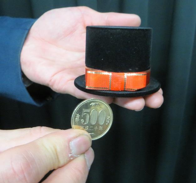 サインコインinハットケース