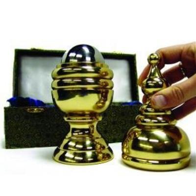 Mega Ball & Vase/真鍮製・巨大ボール&ベース