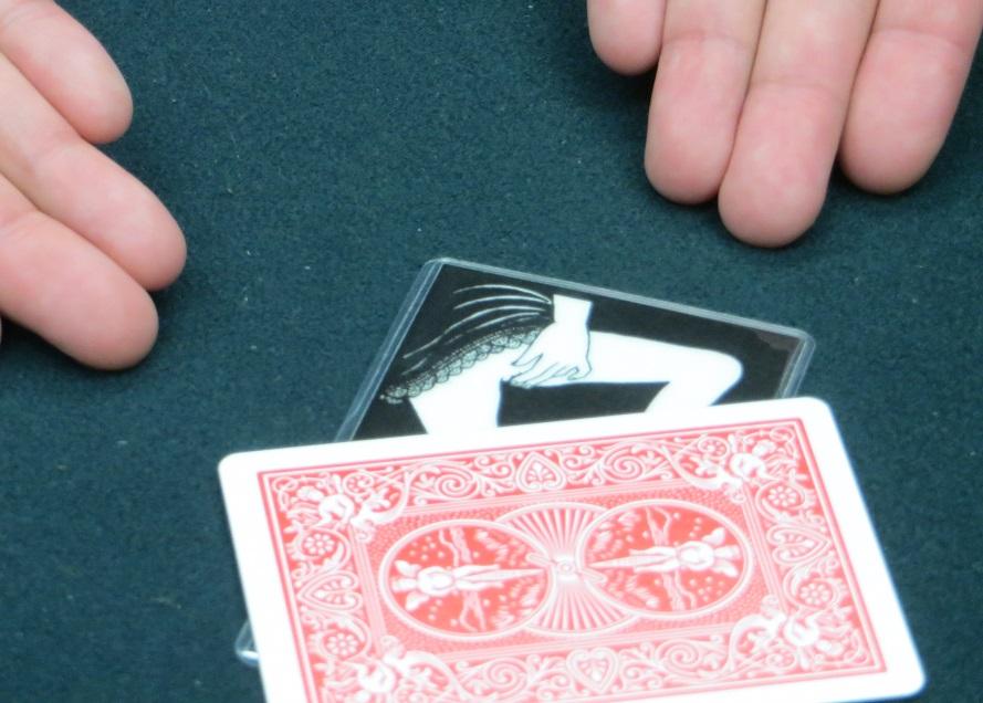 エッチな予言カードマジック