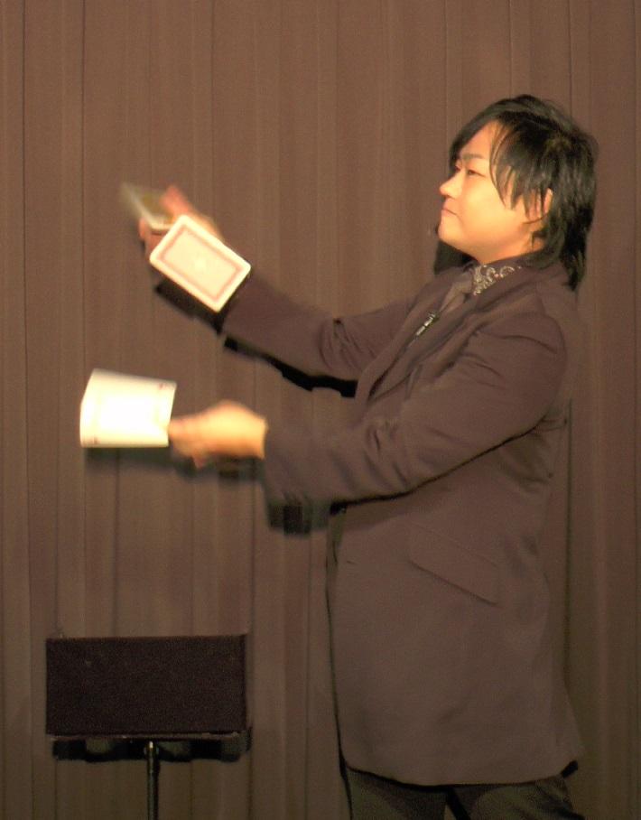 神保賢孝のジャンボカード・マニュピレーション/3枚組DVD