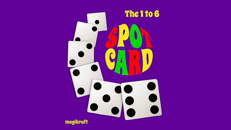 1 TO 6 SPOT CARD/1to6スポットカード