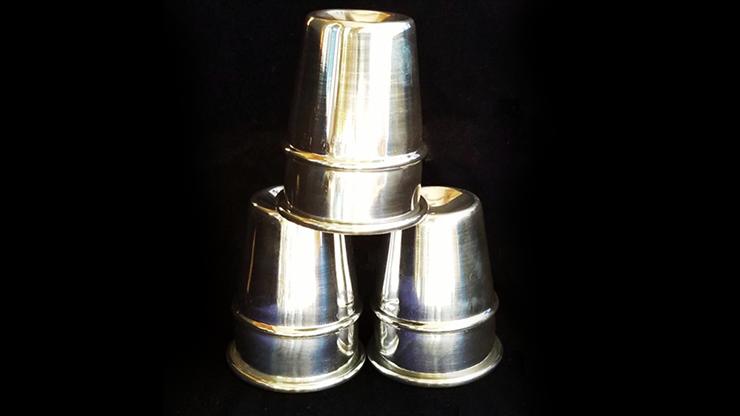 P&L Cups and Balls/高品質・アルミ製・カップ&ボール