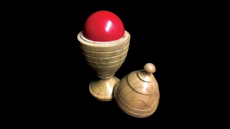 Deluxe Wooden Ball Vase/最高級・ボール&ベース