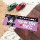 クロミ ドラレコステッカー ドライブレコーダー搭載車【NOW ON REC】スリム型車マグネットステッカー【ゆうパケット対応商品】